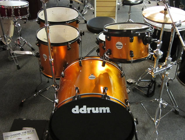 DDRUM Journeyman 5pc Drum Set
