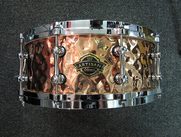 DDRUM Hammered Copper Snare