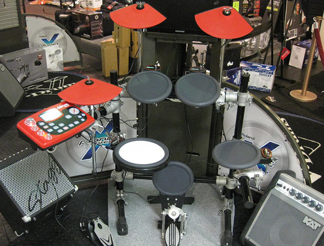 DDRUM DD3X Electronic Drum Set - Store Demo Model in Excellent Condition