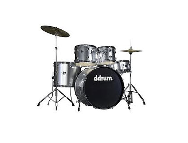 DDRUM D2 5pc Beginner Drum Set with Cymbals and Hardware