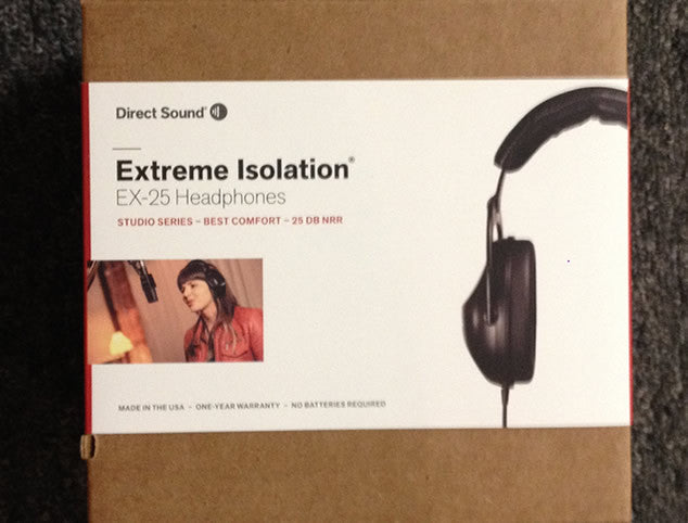 Direct Sound Extreme isolation Headphones