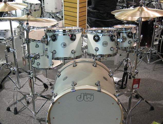DW Design Series 7pc All Maple Drum Set w/ Zildjian Cymbals