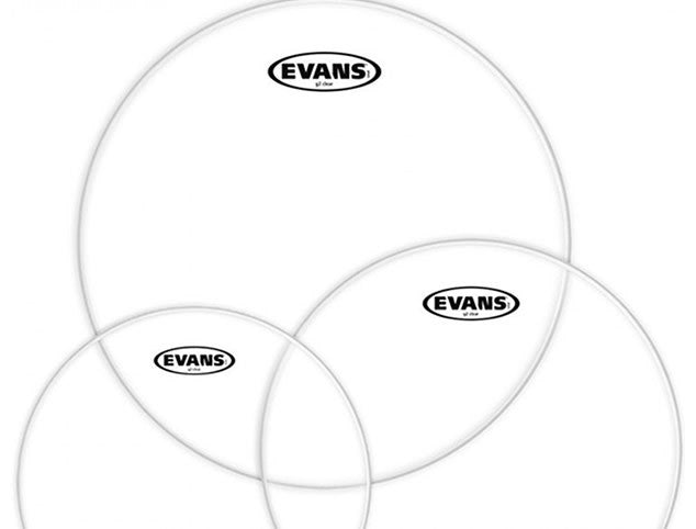 Evans G2 Clear Drum Head Pack - 10