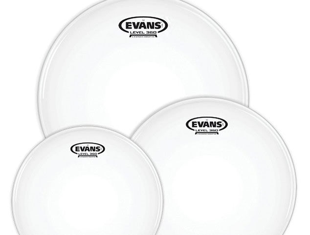 Evans G2 Clear or Coated Drum Head Pack - 10,12,14 or 12,13,16