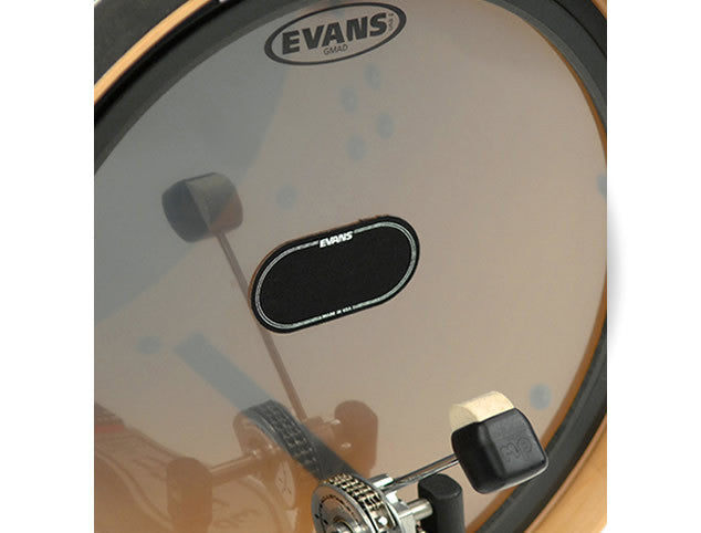 Evans EQPB2 Black Nylon Double Bass Pedal Patch