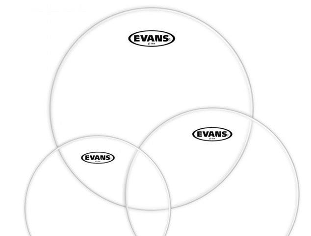 Evans G2 Rock Clear Drum Head Pack- 10