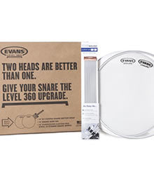 Evans Drum Heads Level 360 Snare Head Pack
