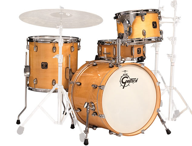 Grestch Catalina Jazz 4pc Drum Set Shell Pack in Gloss Natural