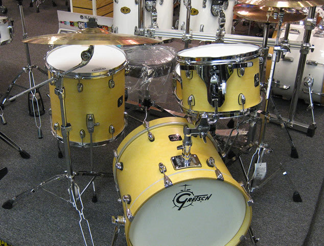gretsch catalina club jazz 4pc drum set with cymbals and hardware drumming deals. Black Bedroom Furniture Sets. Home Design Ideas