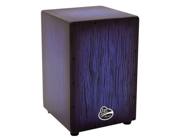 LP Aspire Cajon in Blue Burst Finish