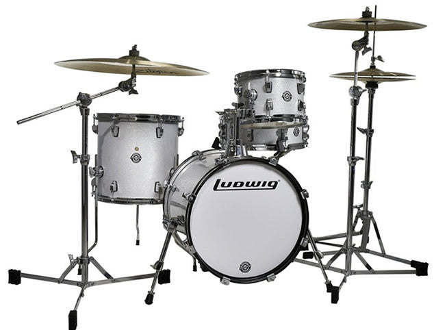 Ludwig Questlove Breakbeats 4pc Drum Set Shell Pack with Bags