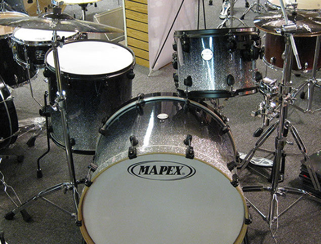 Mapex Meridian Maple Drum Set & Paiste Cymbals