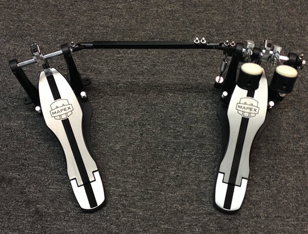 Mapex Black Coated Double Pedal