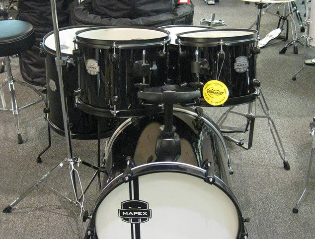 Mapex Voyager 5pc. Jazz Drum Set with Cymbals and Hardware