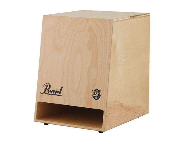 Pearl Sonic Boom Cajon with Natural Wood Finish