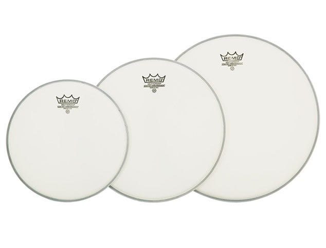 Remo Drum Heads Tom Packs - 10