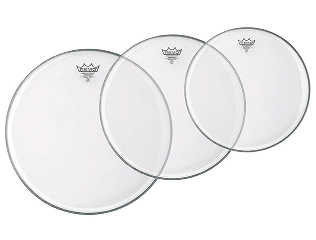 Remo Clear Emperor Drum Head Pack - 10