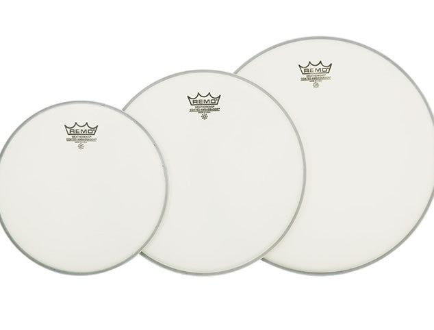 Remo Coated Ambassador Drum Head Prepack - 10, 12, and 16 sizes
