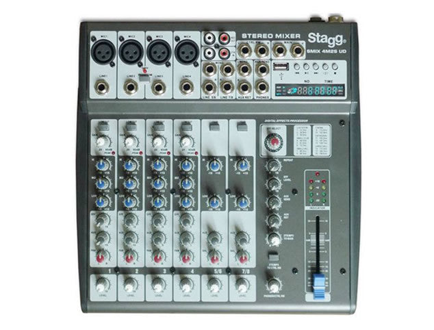 Stagg SMIX4SMS US Multi-channel stereo mixer