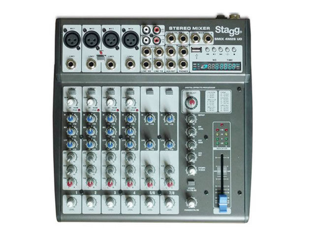 Stagg SMIX 4M2S Compact Mixer