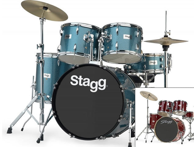 Stagg Tim Full Size Drum Set Complete