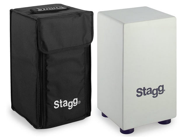 Stagg Percussion Mini Cajon with Carrying Case