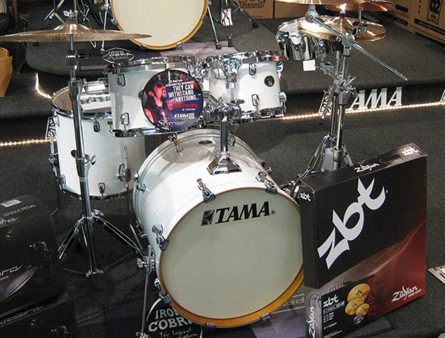 Tama Silverstar 5pc. Drum Set