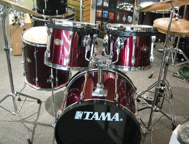 Pre-Owned Tama Rockstar 5pc Drum Set