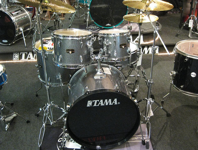 Tama Imperialstar 5pc Drum Set Complete with Hardware and Cymbals