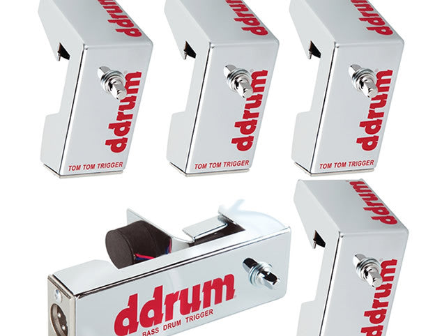 DDRUM Chrome Elite 5pc Drum Trigger Pack