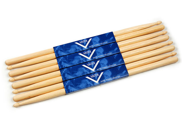Vater 6pr Stick Deal - 5A Wood, 5A Nylon, 5B Wood or 5B Nylon
