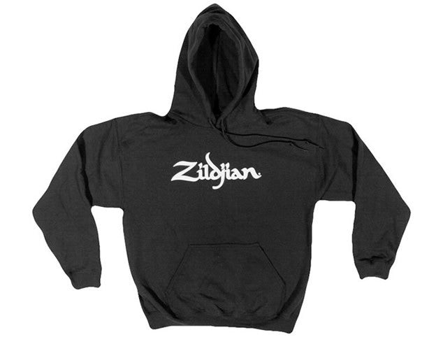 Zildijan Classic Men's Black Hooded Sweatshirt