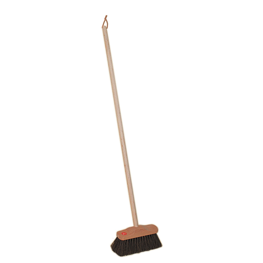 Children's Outdoor Broom with Arenga Fibre