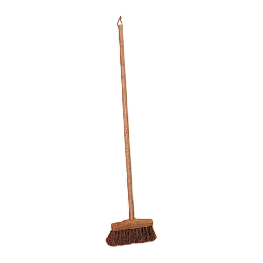 Children's Indoor Broom with Coconut Fibre - 70cm