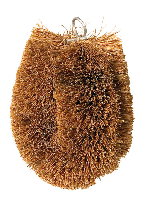 Vegetable Brush with Coconut Fibre