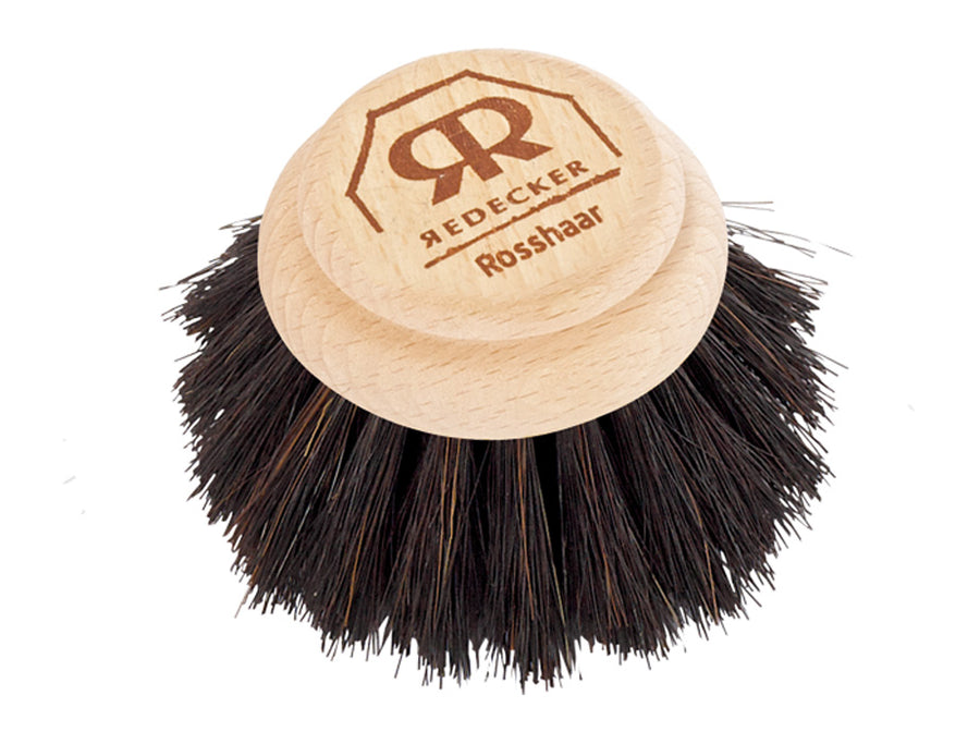 Dish Brush Replacement Head with Horsehair - 5cm