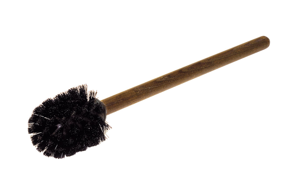 Loo Brush with Oiled Thermowood Round Handle