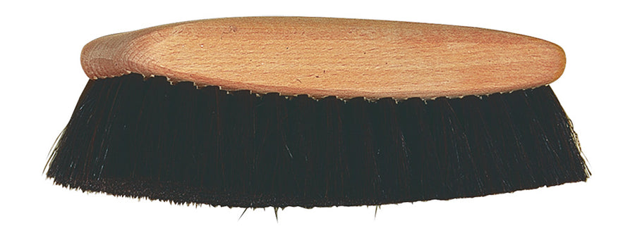 Shoe Shine Brush with Black Horsehair