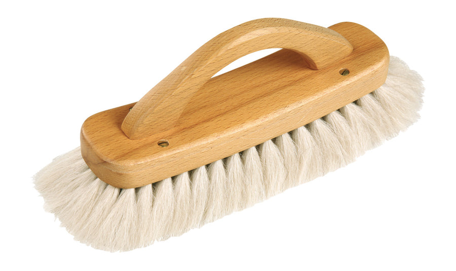 Shoe Shine Brush (With Handle) Light Yak Hair 21Cm