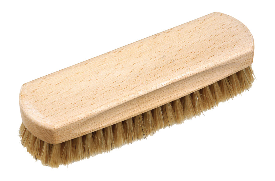 Shoe Shine Brush with Light Horsehair - 16cm