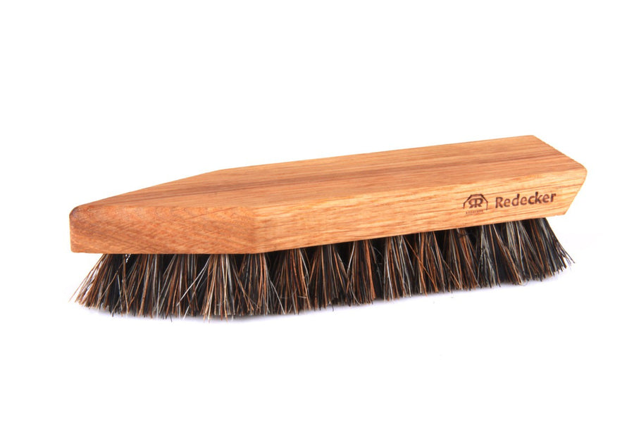 Shoe Cleaning Brush Oiled Oak