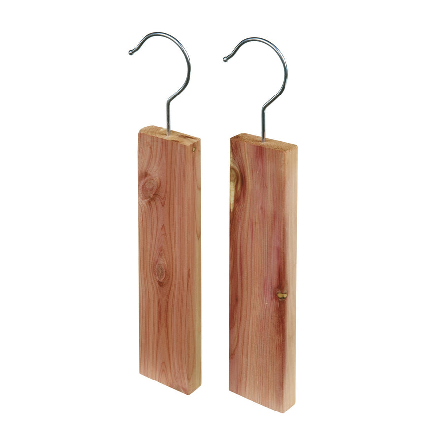 Red Cedar Wood Hanging Hooks - Pack of 2