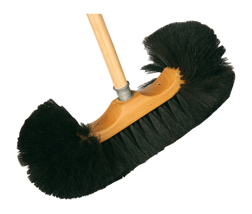 Wooden Duster Vienna Style With Thread 40Cm