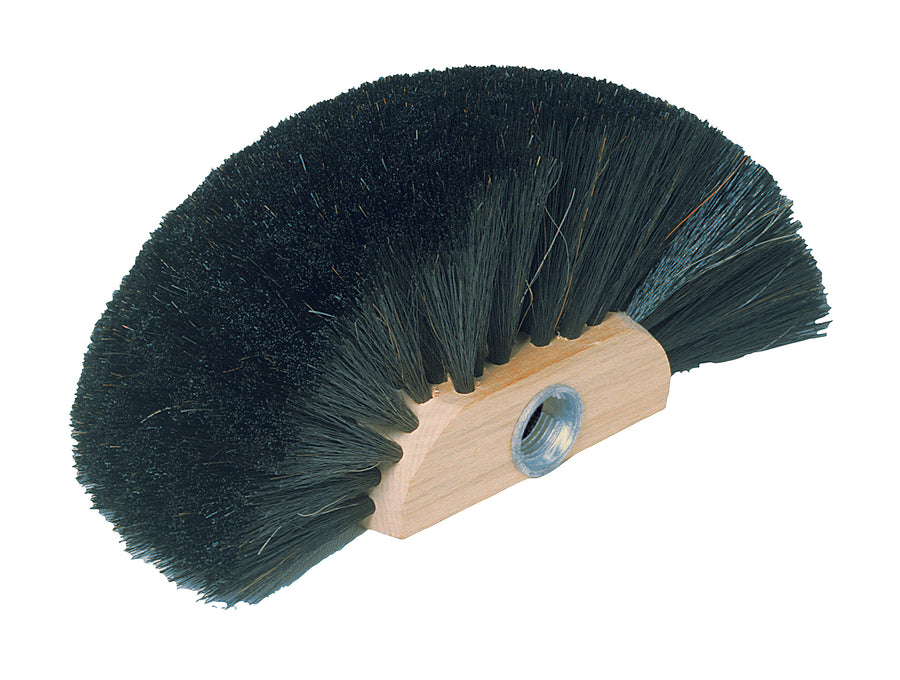 Cobweb Broom Head with Arenga Fibre - Threaded