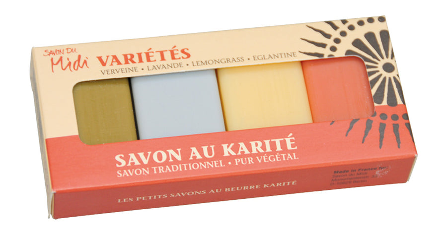 Guest Soaps Set of 4 - Savon Du Midi