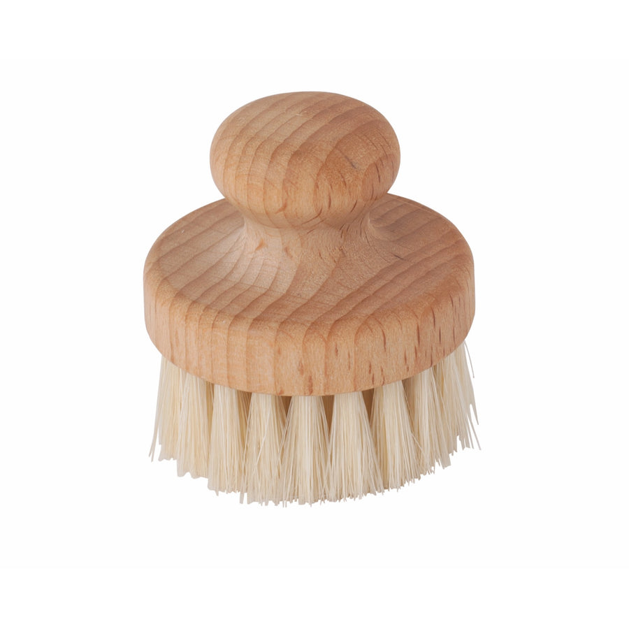 Wooden Face Brush, Round