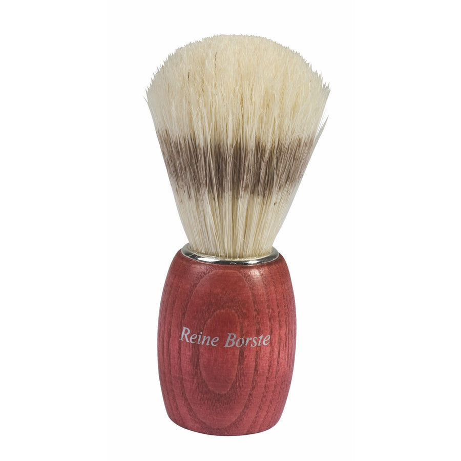 Shaving Brush with Bristle & Red Beechwood Handle