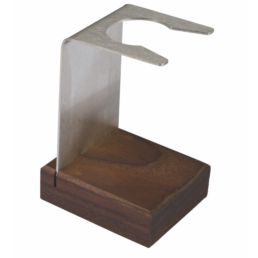 Thermowood & Stainless Steel Shaving Brush Stand