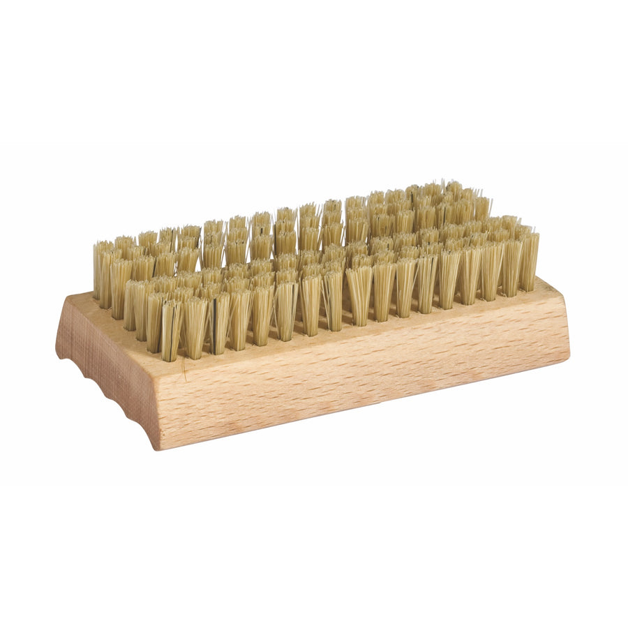 Wooden Nailbrush With Soap Dish