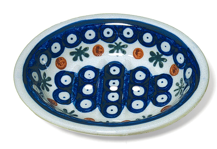 Ceramic Soap Dish - Dark Pattern